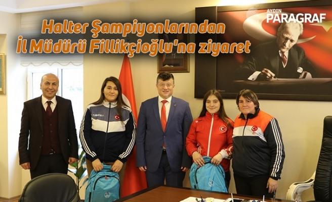 Halter Şampiyonlarından İl Müdürü Fillikçioğlu'na ziyaret