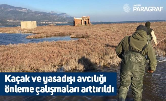 Kaçak ve yasadışı avcılığı önleme çalışmaları arttırıldı