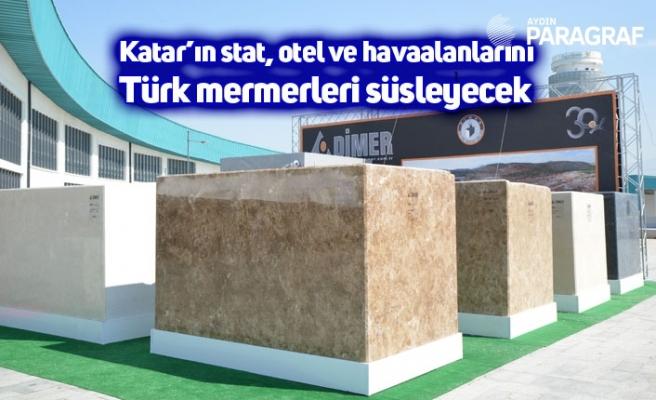 Katar'ın stat, otel ve havaalanlarını Türk mermerleri süsleyecek