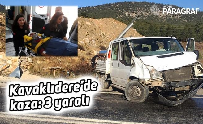 Kavaklıdere'de kaza: 3 yaralı