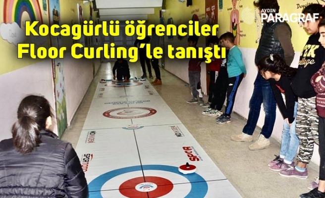 Kocagürlü öğrenciler Floor Curling'le tanıştı