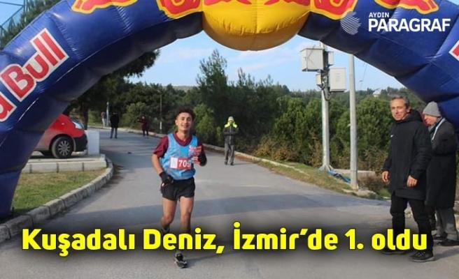 Kuşadalı Deniz, İzmir'de 1. oldu