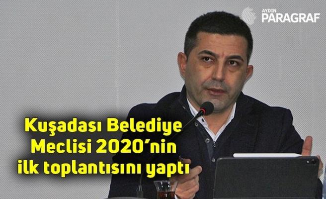 Kuşadası Belediye Meclisi 2020'nin ilk toplantısını yaptı