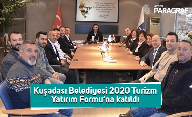 Kuşadası Belediyesi 2020 Turizm Yatırım Formu'na katıldı