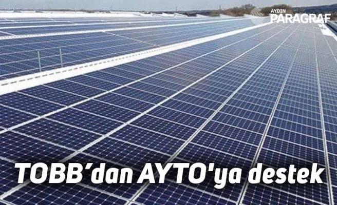 TOBB'dan AYTO'ya destek