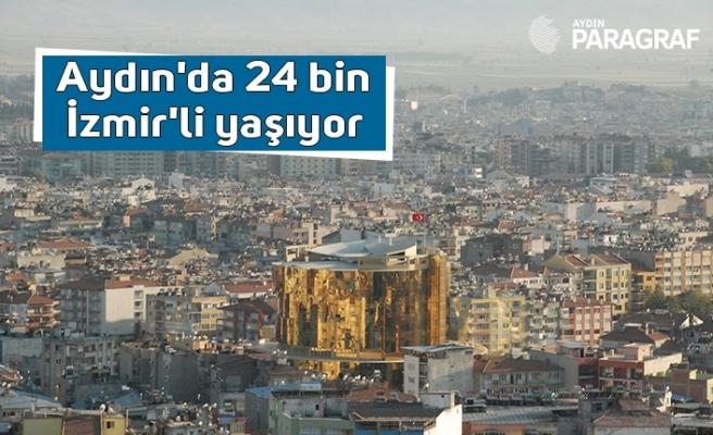 Aydın'da 24 bin İzmir'li yaşıyor