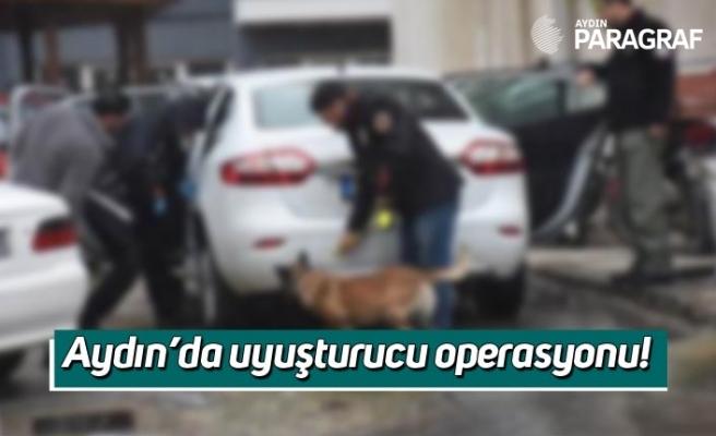 Aydın'da uyuşturucu operasyonu!