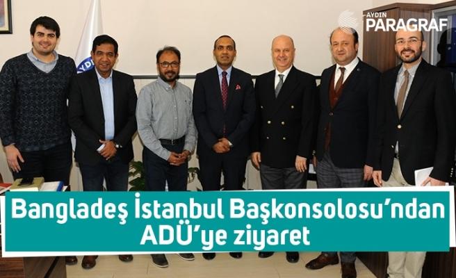 Bangladeş İstanbul Başkonsolosu'ndan ADÜ'ye ziyaret