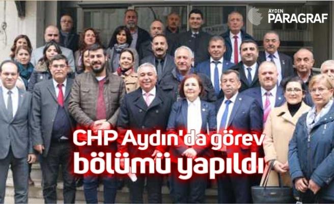 CHP Aydın'da görev bölümü yapıldı