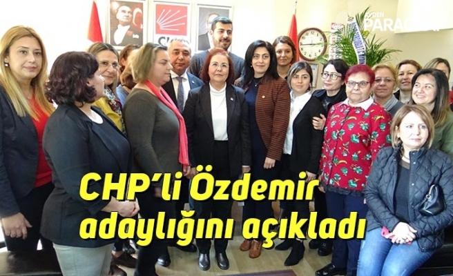 CHP'li Özdemir adaylığını açıkladı