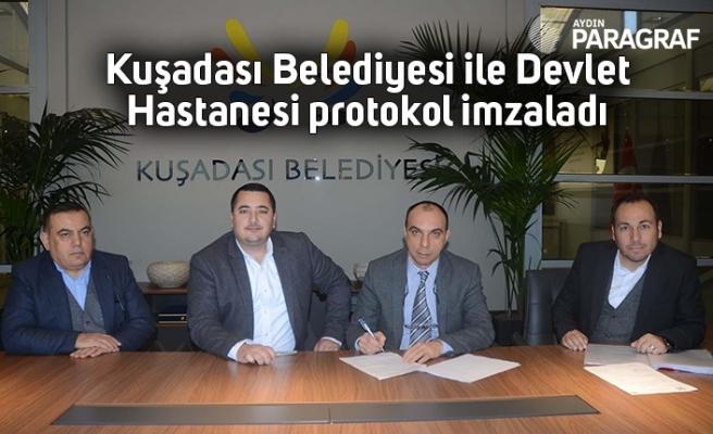 Kuşadası Belediyesi ile Devlet Hastanesi protokol imzaladı