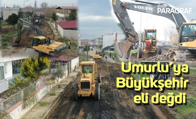 Umurlu'ya Büyükşehir eli değdi
