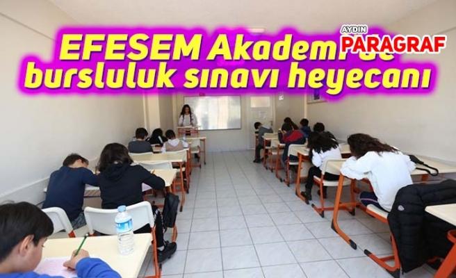 EFESEM Akademi'de bursluluk sınavı heyecanı