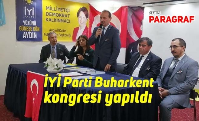 İYİ Parti Buharkent kongresi yapıldı