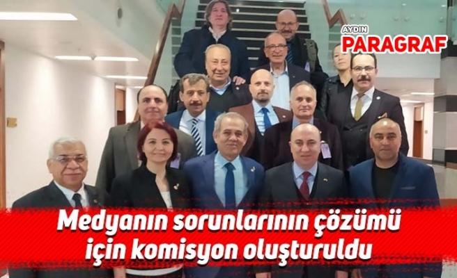 Medyanın sorunlarının çözümü için komisyon oluşturuldu
