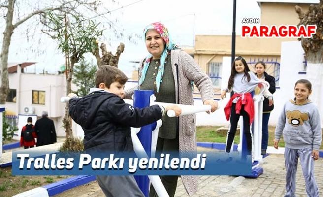 Tralles Parkı yenilendi