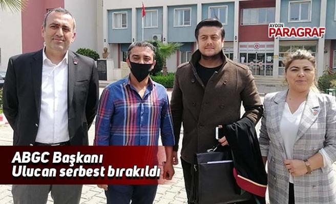 ABGC Başkanı Ulucan serbest bırakıldı