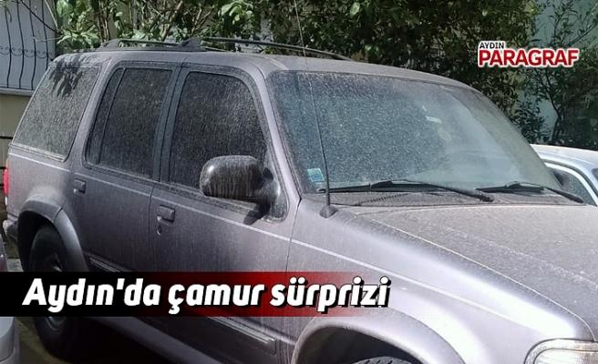 Aydın'da çamur sürprizi