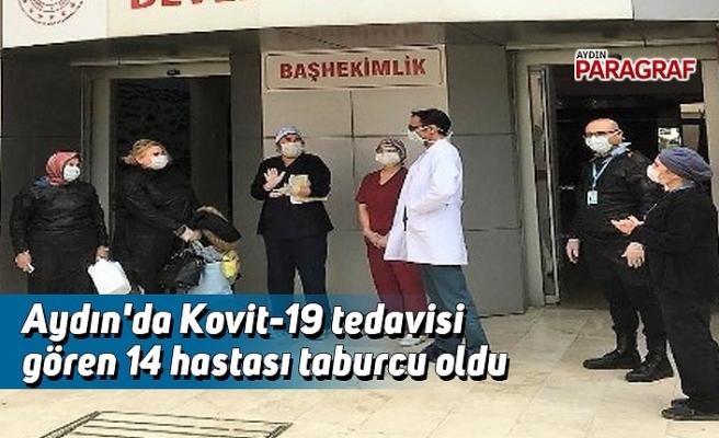Aydın'da Kovit-19 tedavisi gören 14 hasta taburcu oldu
