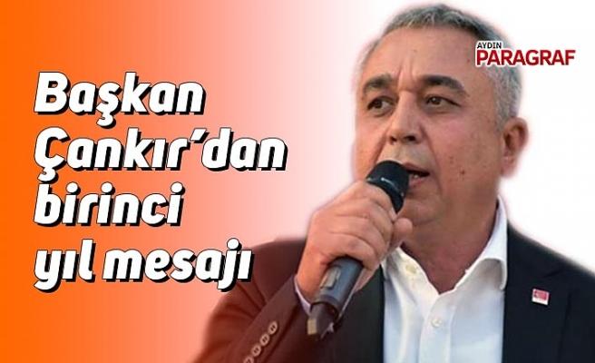 Başkan Çankır'dan birinci yıl mesajı