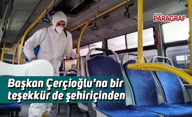 Başkan Çerçioğlu'na bir teşekkür de şehiriçinden