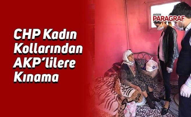 CHP Kadın  Kollarından AKP'lilere Kınama