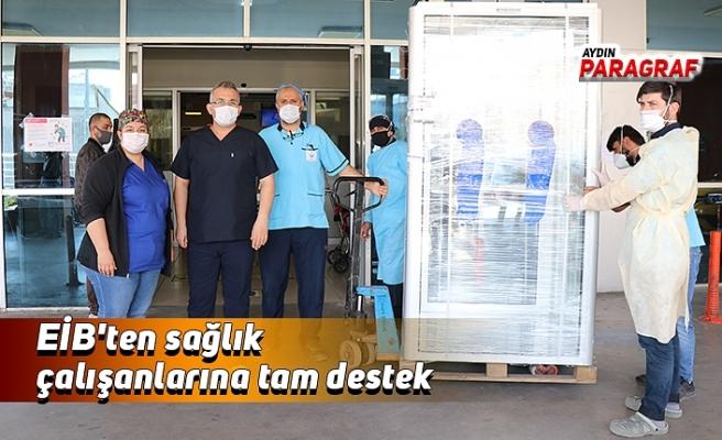 EİB'ten sağlık çalışanlarına tam destek