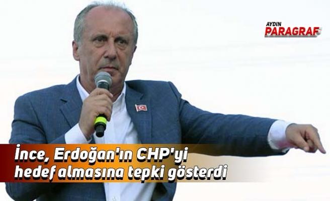 İnce, Erdoğan'ın CHP'yi hedef almasına tepki gösterdi