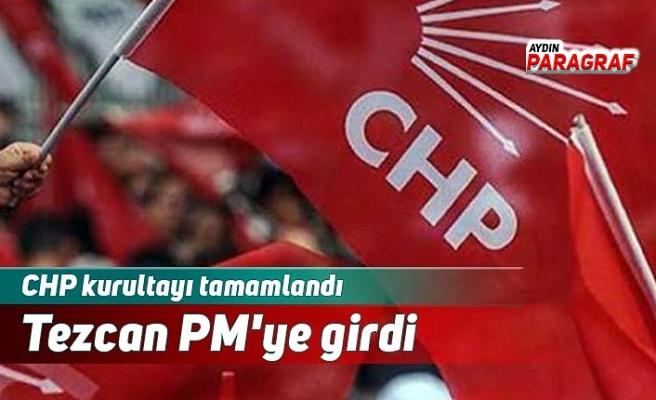 Tezcan PM'ye girdi
