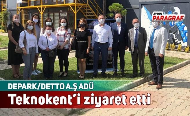 DEPARK/DETTO A.Ş ADÜ Teknokent'i ziyaret etti
