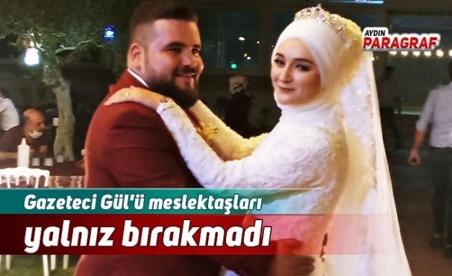 Gazeteci Gül'ü meslektaşları yalnız bırakmadı