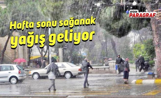 Hafta sonu sağanak yağış geliyor
