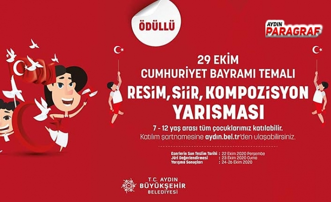Aydın Büyükşehir'den öğrencilere 90 tablet ödüllü yarışma