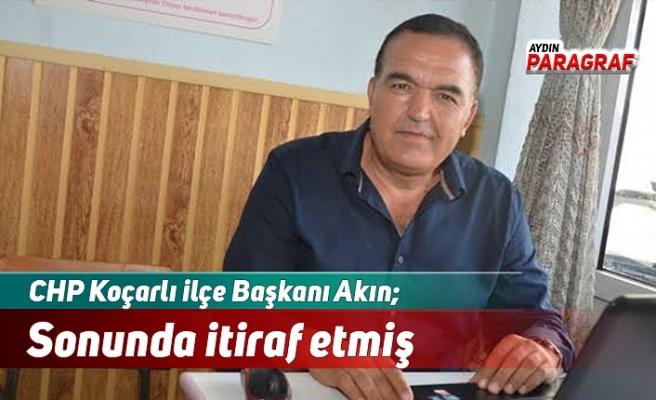 CHP'li Akın; Arıtma engellemesini sonunda itiraf etmiş