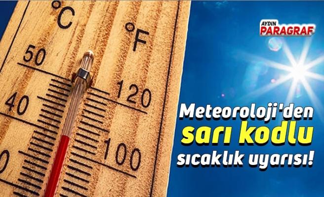 Meteoroloji'den sarı kodlu sıcaklık uyarısı!