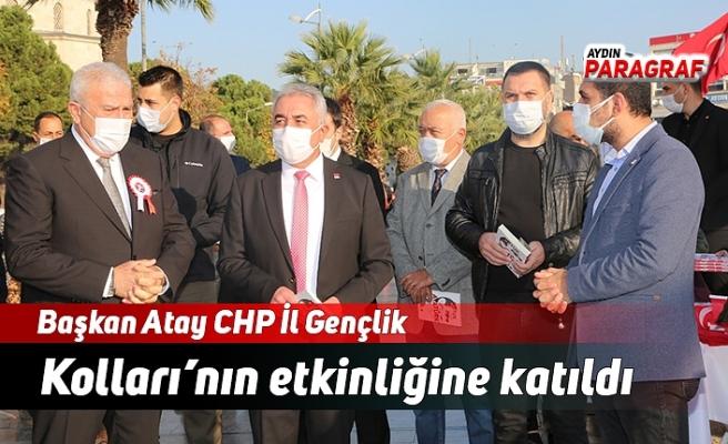 Başkan Atay CHP İl Gençlik Kolları'nın etkinliğine katıldı