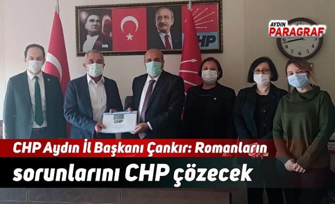 Başkan Çankır: Romanların sorunlarını CHP çözecek