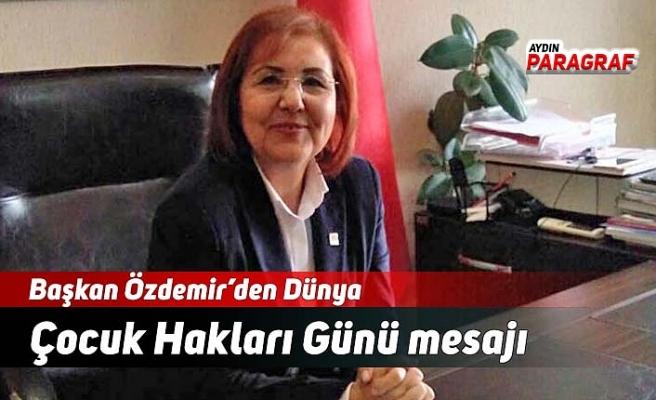 Başkan Özdemir'den Dünya Çocuk Hakları Günü mesajı
