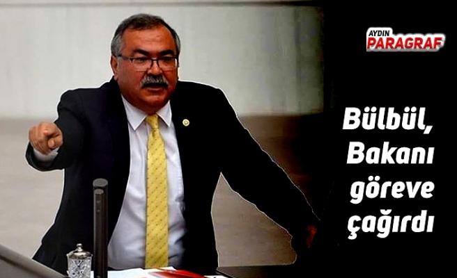 Bülbül, Bakanı göreve çağırdı