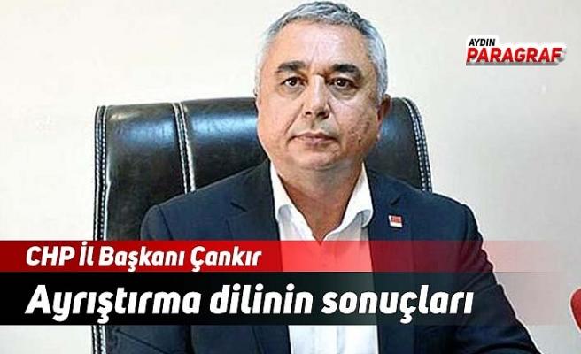 CHP İl Başkanı Çankır: Ayrıştırma dilinin sonuçları
