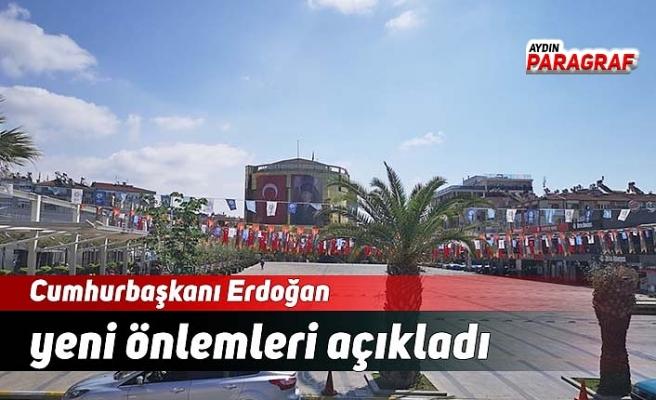 Cumhurbaşkanı Erdoğan yeni önlemleri açıkladı