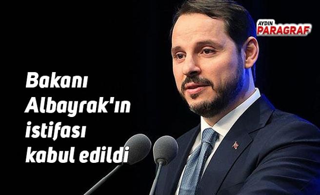 Hazine ve Maliye Bakanı Berat Albayrak'ın istifası kabul edildi