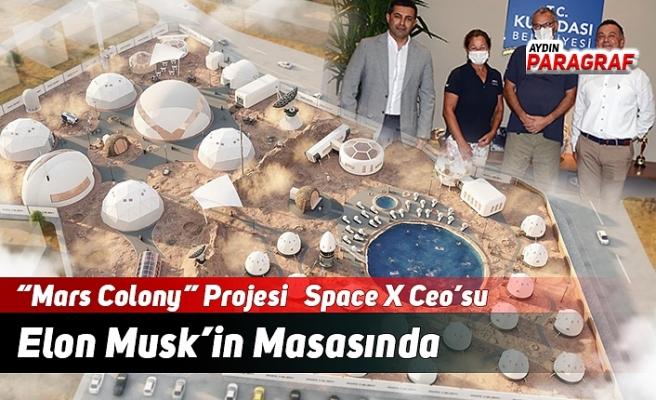 """Mars Colony"" Projesi   Space X Ceo'su Elon Musk'in Masasında"