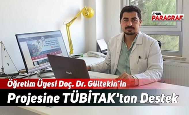 Öğretim Üyesi Doç. Dr. Gültekin'in  Projesine TÜBİTAK'tan Destek