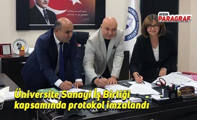 Üniversite Sanayi İş Birliği kapsamında protokol imzalandı
