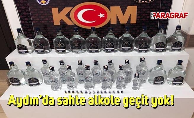Aydın'da sahte alkole geçit yok!