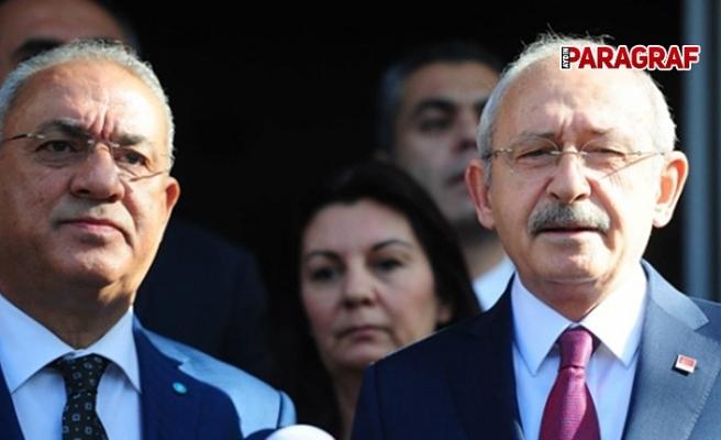 Kılıçdaroğlu ile Aksakal görüştü