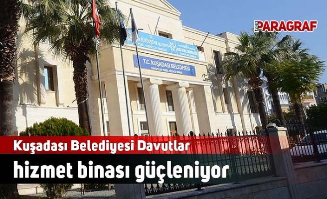 Kuşadası Belediyesi Davutlar hizmet binası güçleniyor