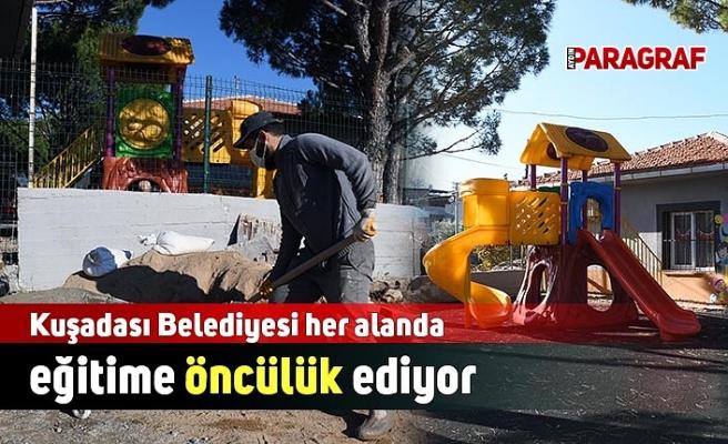 Kuşadası Belediyesi her alanda eğitime öncülük ediyor