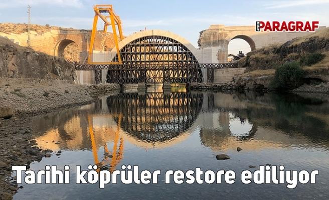 Bakan Karaismailoğlu açıkladı: Tarihi köprüler restore edilerek turizme kazandırılıyor.